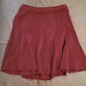 Urban outfitters faux suede Mini Skirt